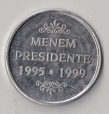 argentina medalla carlos s. menem presidente 1995 - 1999