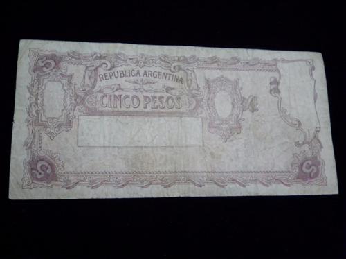 argentina pesos billete