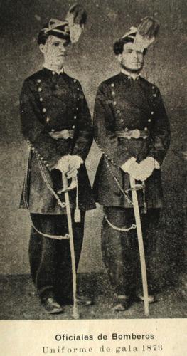 argentina police reseña historica 1778 1911 uniforme bombero