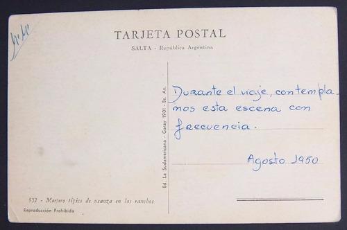 argentina - salta - mortero típico edit. sudamericana n° 932