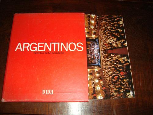 argentinos retratos de fin de milenio