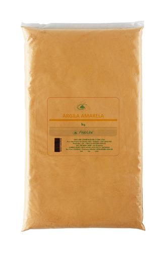 argila amarela contra flacidez cosméticos 1kg fisioline#19