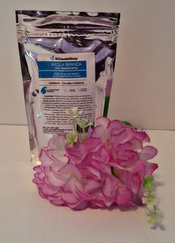 argila branca pó esterilizada bicosméticos1 kg