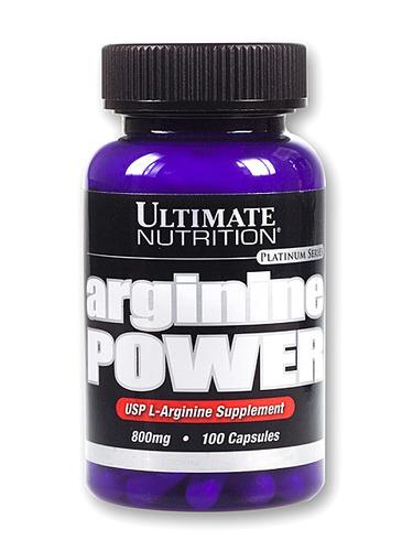 arginine power 800 mg arginina aminoacido ultimate nutrition