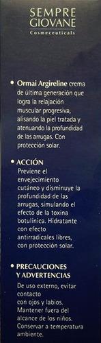 argireline 8% real efecto toxina botulimica 30gr en belgrano
