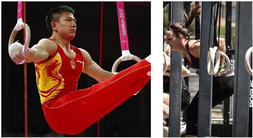 argola olimpica cross fit suspensa 4m plástico abs tipo trx