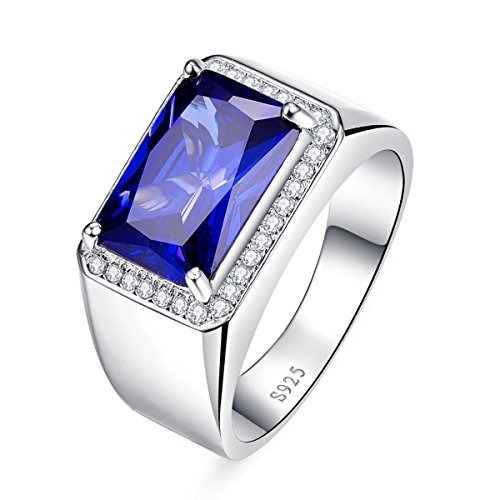 5fba0c403f66 Argolla Anillo Plata 925 Piedra Radiante Azul Para Hombres -   157.777 en Mercado  Libre