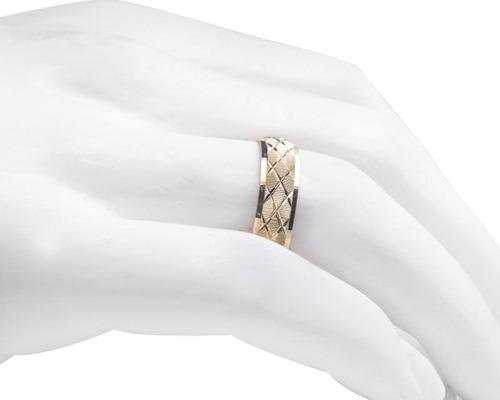 argolla de oro enamoro de 10 quilates no. 6 pm-8124713