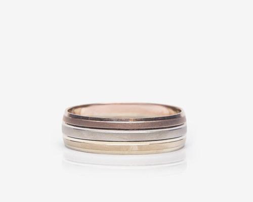argolla de oro fonelli de 14 quilates no. 5 pm-8137373