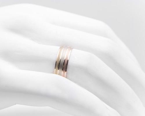 argolla de oro fonelli de 14 quilates no. 7.5 pm-8137883