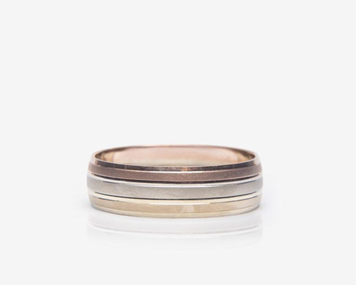 argolla de oro fonelli de 14 quilates no. 8 pm-8137963