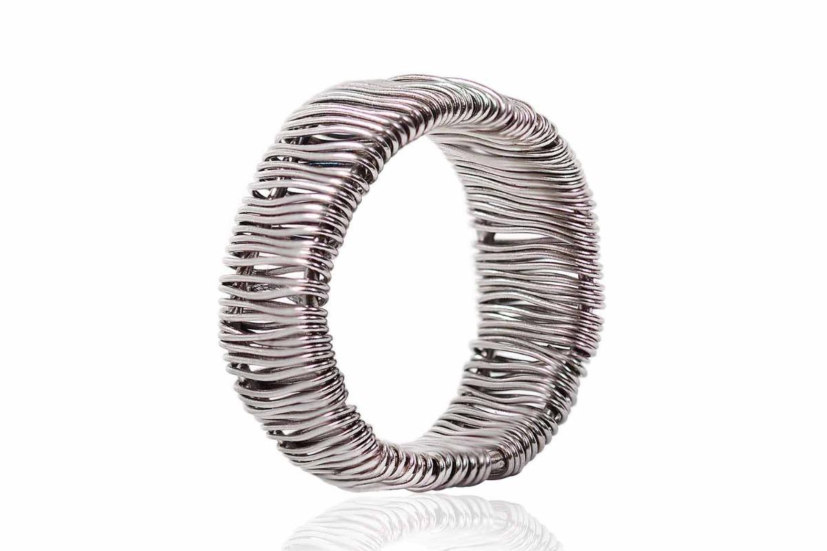 5ab32d4435c4 Argolla De Plata Con Un Exclusivo Diseño Wire (23815) -   480.00 en ...