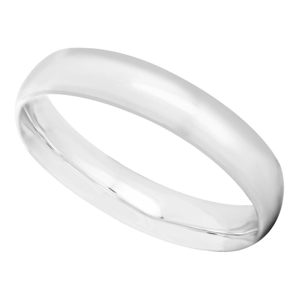 64c4231549c2 argolla matrimonial oro blanco 14k media caña confort 4mm. Cargando zoom.