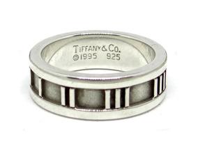 da804910d145 Argolla Tiffany Atlas Original Argolla Talla 5.5 Plata Fina