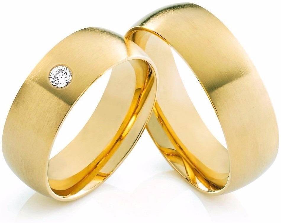 3898ada50ee2 Argollas De Matrimonio Aros De Boda Oro 10 Kilates Ambos - Bs ...