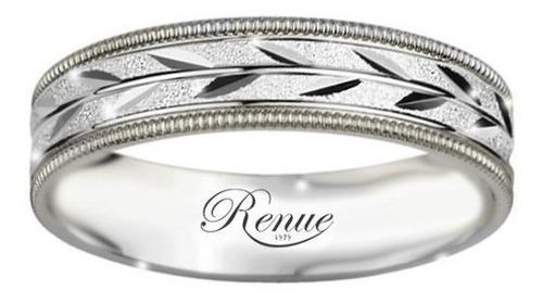 argollas de matrimonio compromiso plata par diamantadas