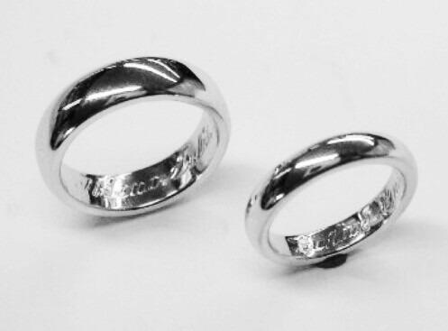 argollas de matrimonio de plata ley grabado y estuche gratis
