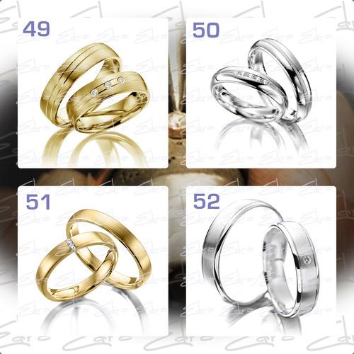 argollas de matrimonio en oro de 18k macizo garantizado- c/u
