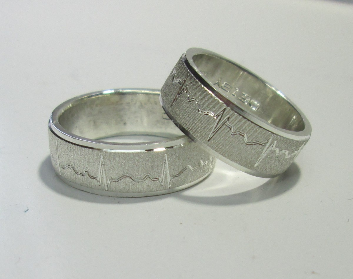 Argollas de matrimonio en plata 925 grabado precio par en mercado libre - Cuberterias de plata precios ...