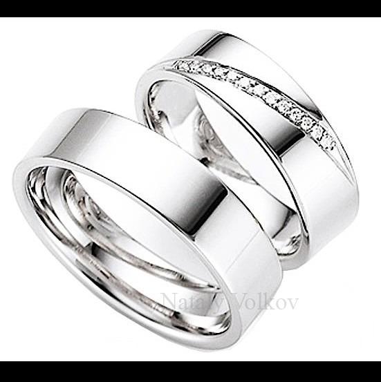 e29612b7e0da Argollas De Matrimonio En Plata Y Platino Modelos A Elegir ...