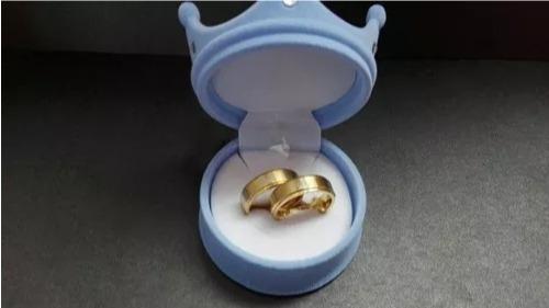 argollas king and queen + caja de regalo