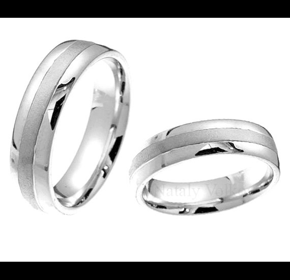 5be20ffe2714 Argollas Matrimoniales De Plata Y Platino Modelos A Elegir ...
