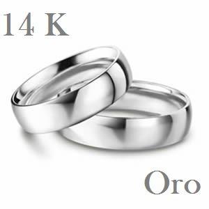 argollas matrimoniales en oro de 14k envio gratis y estuche