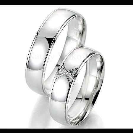 dcd664eb8be6 Argollas Matrimoniales Modelo Attraction De Plata Y Platino ...
