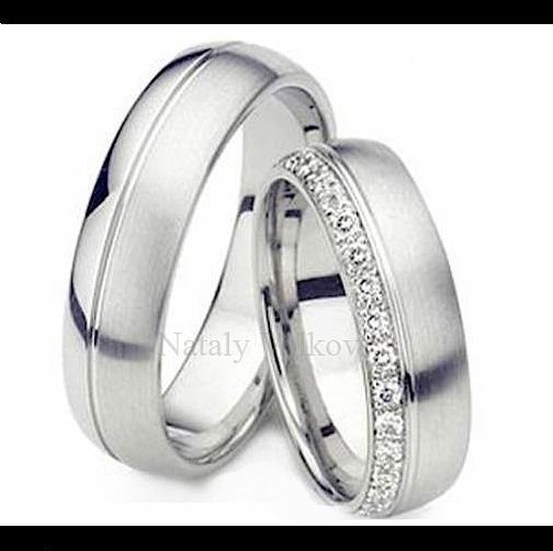 d49b1b2fc82f Argollas Matrimoniales Modelo Rochelle En Plata Y Platino ...