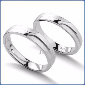 9c0b4921259b Argollas Matrimonio Oro Blanco 14kt - Joyería en Mercado Libre México