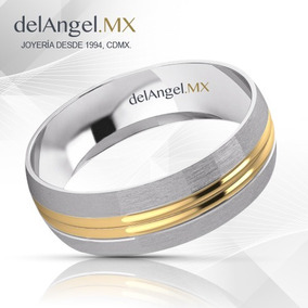 098db8358aea Argolla Matrimonio 14k Joyeria Anillos Oro Brillantes - Joyería en ...