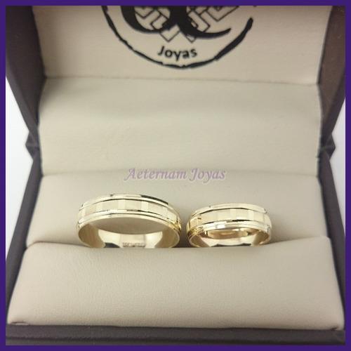 argollas matrimonio oro