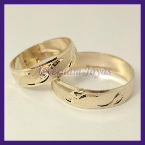 argollas matrimonio oro oro