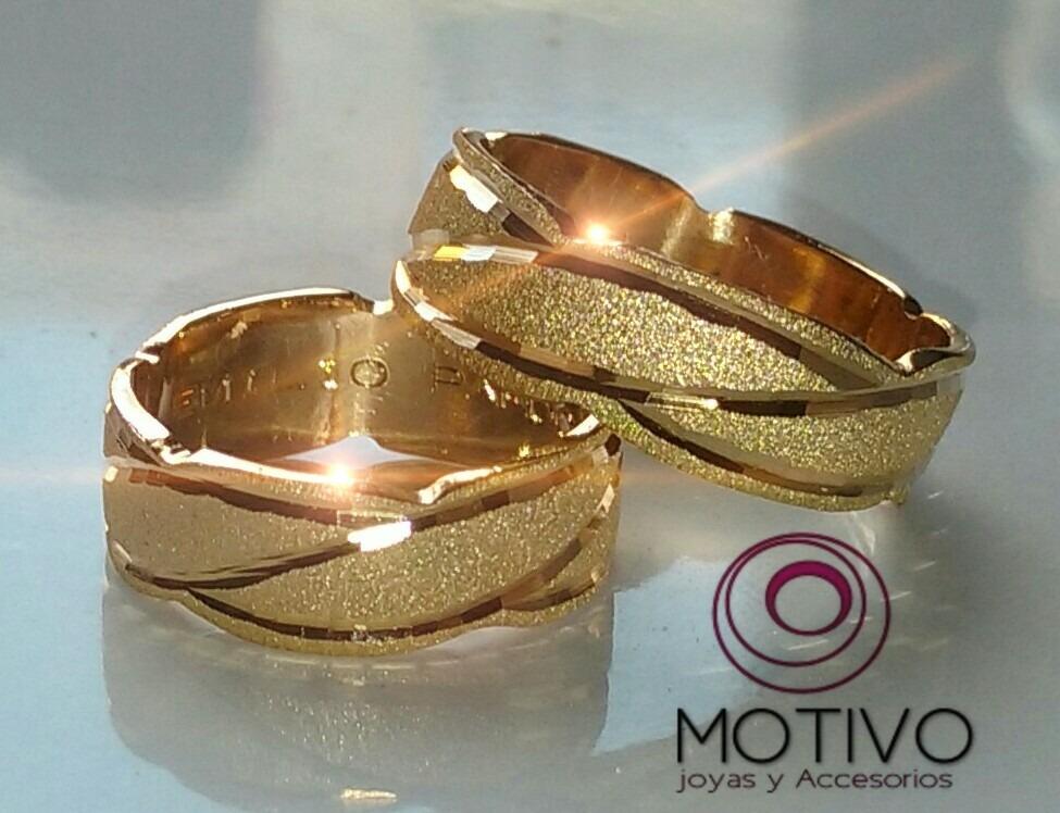 89c0e205db0c7 Argollas Matrimonio Oro Rosado De 18k Peso 12 Gr Precio Par ...