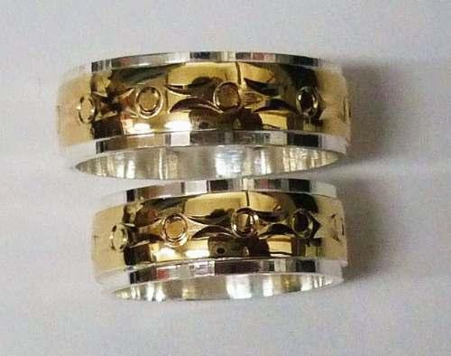 b2dbc6f36ed5 Argollas Matrimonio Plata 925 Oro Diamante Joyas Esmeraldas ...