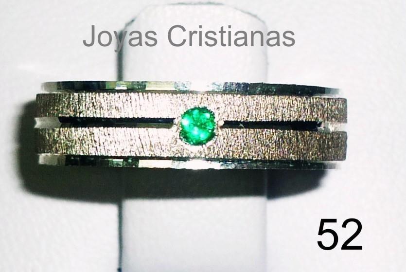 f59fe3b4d743 Argollas Matrimonio Plata 925 Oro Diamante Joyas Esmeraldas -   79.000 en  Mercado Libre