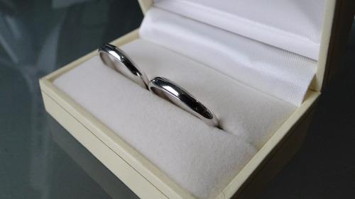 argollas matrimonio plata