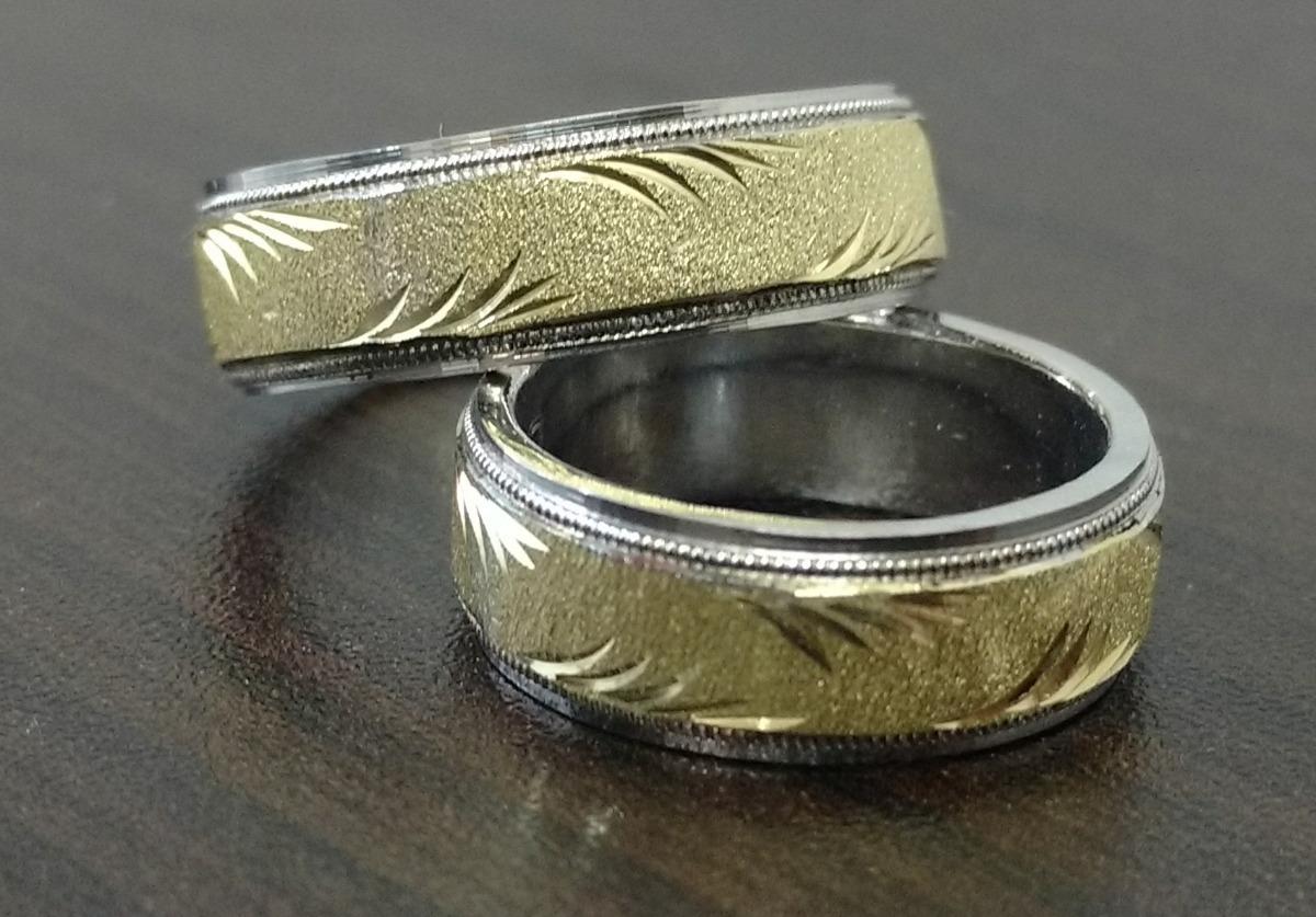 0d6a8a54430c argollas matrimonio plata oro 18k + obsequio anillo compromi. Cargando zoom.