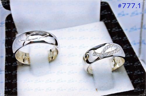 argollas matrimonio plata rodio par+ arras+ grabado digit