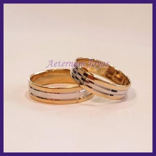 argollas orlov de matrimonio 14k 6gr regalo y envío gratis