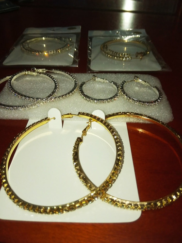 argollas y anillos de brillantes fantasia fina