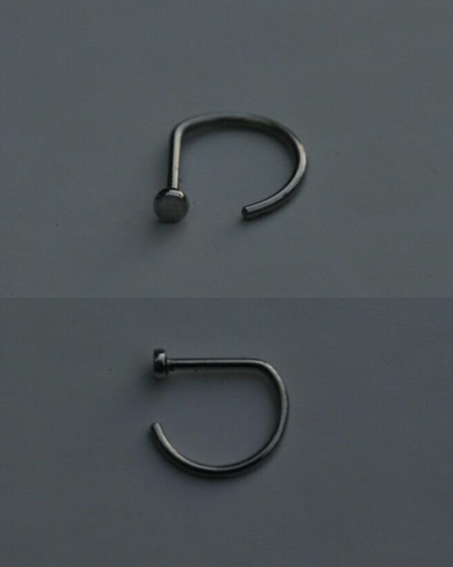 Argollita Nostril G Ring Acero 400 00 En Mercado Libre