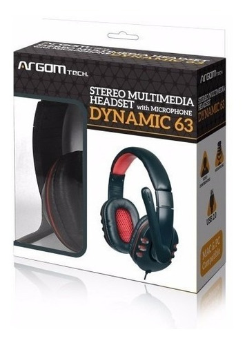 argom arg-hs-0063 dynamic headset usb (gadroves)