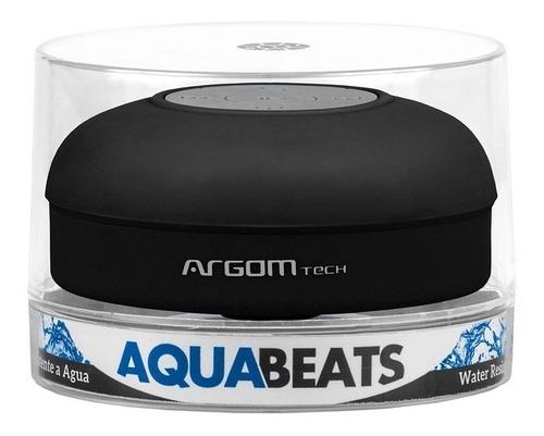 argom sp-2801bk aquabeats parlante bluetooth resiste agua 3w