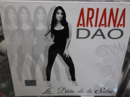 ariana dao la diva de la salsa cd sellado digipak