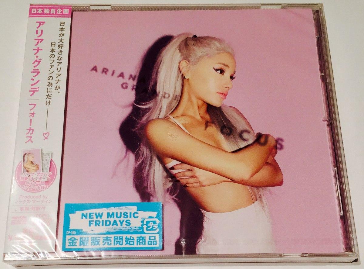 Ariana Grande Calendario.Ariana Grande Focus Japon Single Cd 2 C Calendario Poster