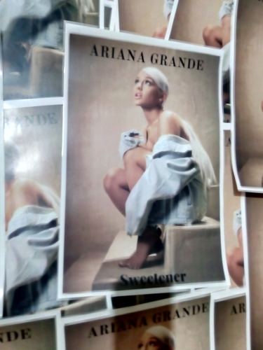 ariana grande sweetener cd + poster nuevo original sellado