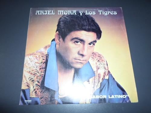 ariel mora y los tigres - con sabor latino * disco de vinilo
