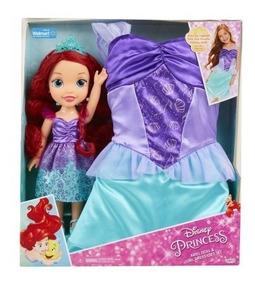 Ariel Sirenita Mas Vestido Niña De 4 A 6 Años