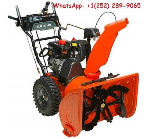ariens deluxe two-stage snow blower